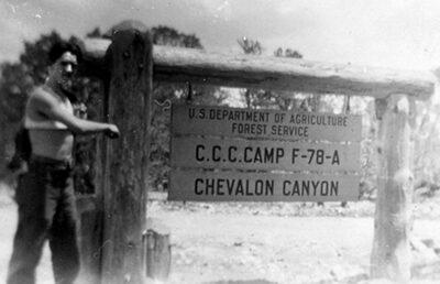 Co. 3346, F-78, Chevelon Canyon, Winslow, AZ