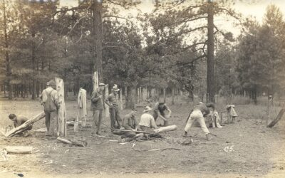 CO. 898M Fencing public campground