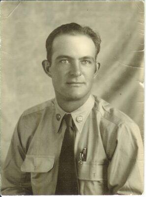 Fred Martin circa 1935 LEM serving at Blue and Buffalo Crossing