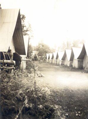 Pinetop, AZ Tent Camp