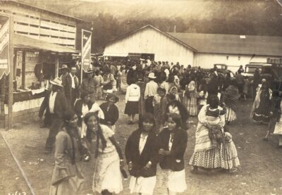 Co. 898 enrollees attend the White River Indian Fair on the Ft. Apache Indian Reservation 1933