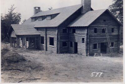 Log Lodge Beltsville USDA Experimental Farm