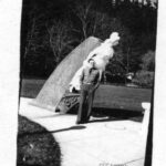 Ralph Prager visiting the park