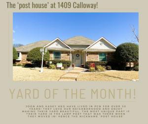 March 2021 - 1409 Callaway Drive