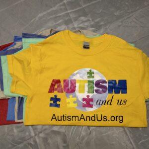 Autism And Us - Logo Shirts