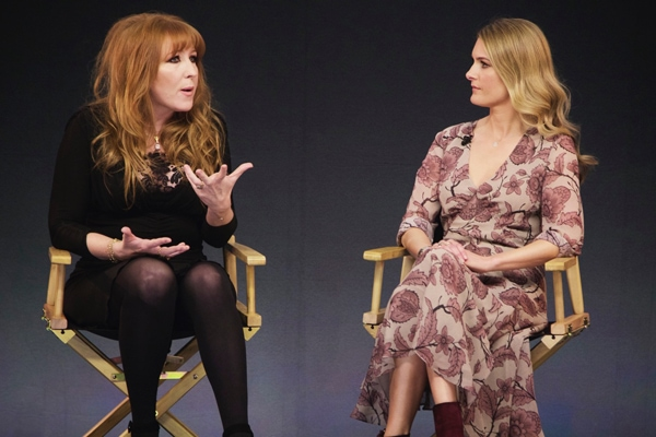 Charlotte Tilbury and Kinvara Balfour at Apple