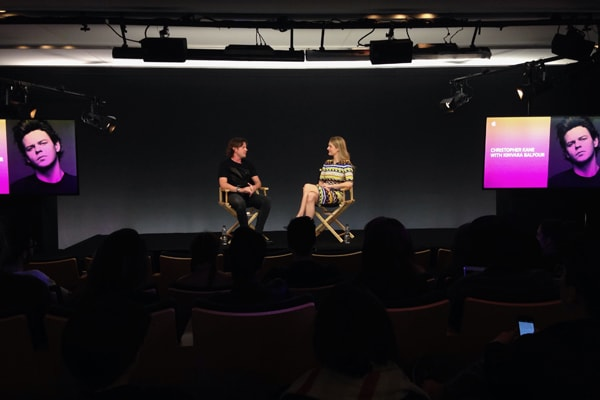 Christopher Kane interviewed by Kinvara Balfour at Apple Fashion in Conversation
