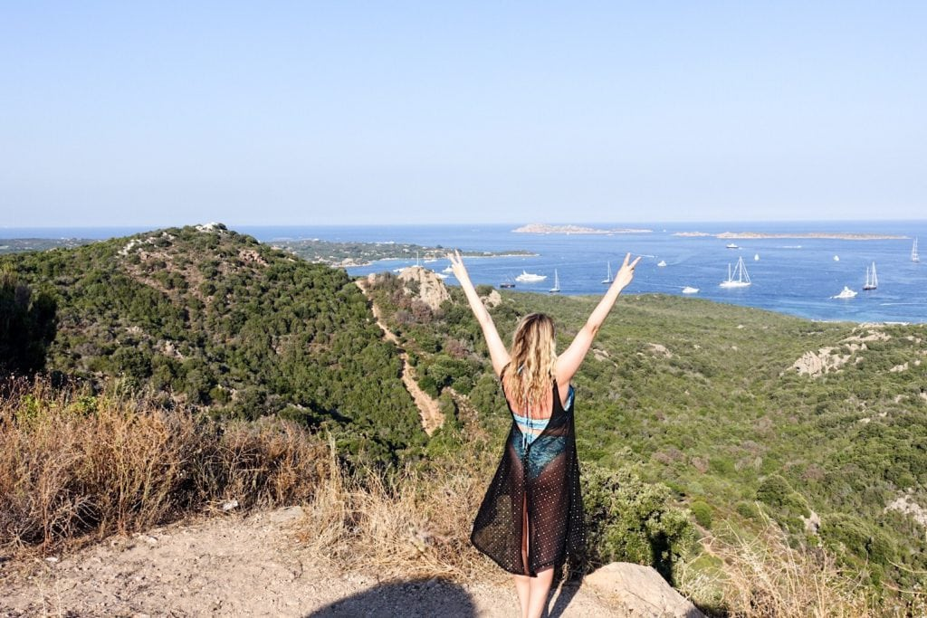 Claire Etchell, NakedPR Girl feature - Guide to Sardinia in Italy