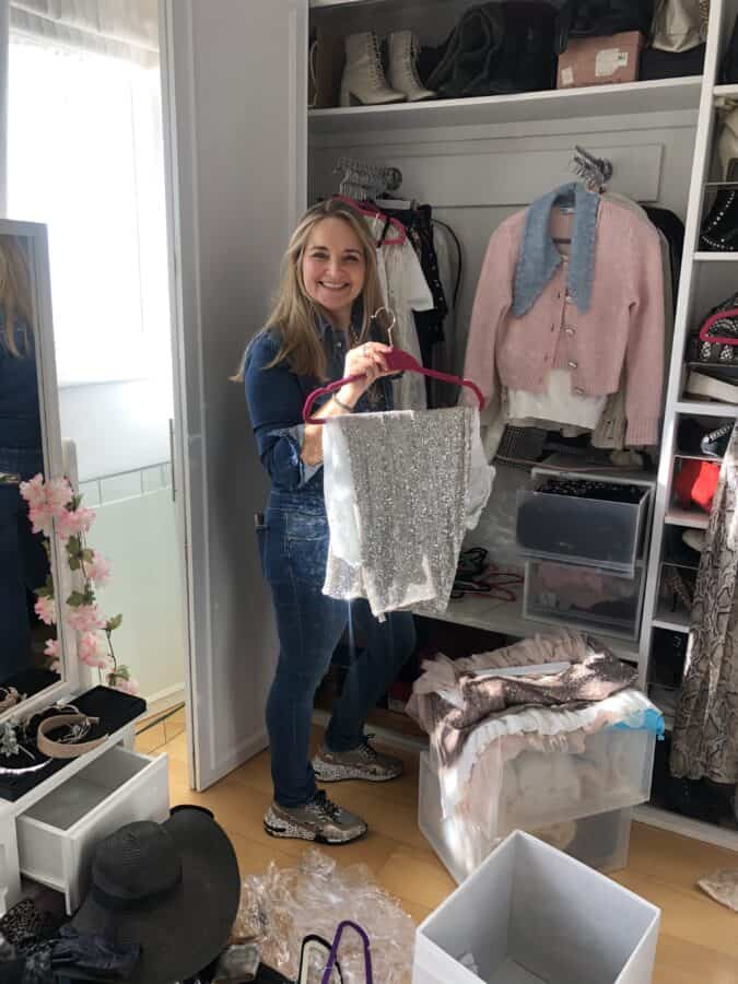 Wardrobe Clear Out with The Organising Lady