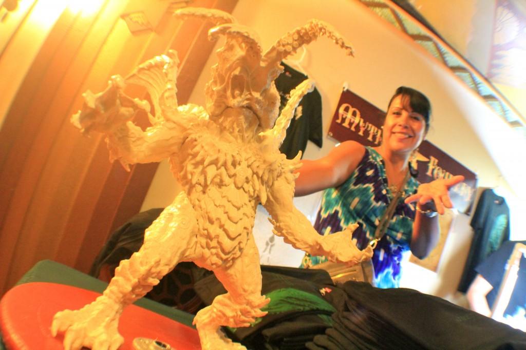 h.p. lovecraft film festival vendor