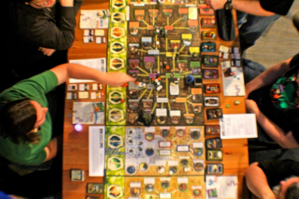 h.p. lovecraft film festival board game