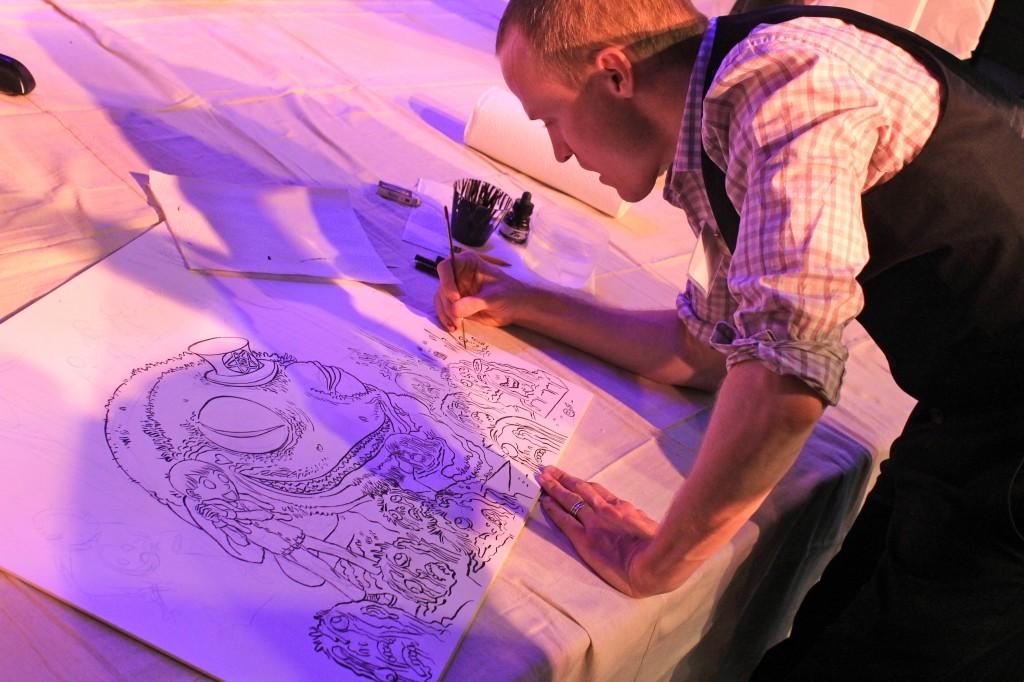 h.p. lovecraft film festival art