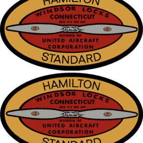 Hamilton Standard 1952-1969 Prop Propeller Decal