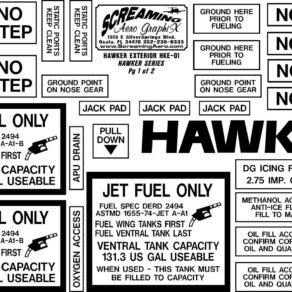 Hawker 125, 400, 600, 700 Series Exterior Kit