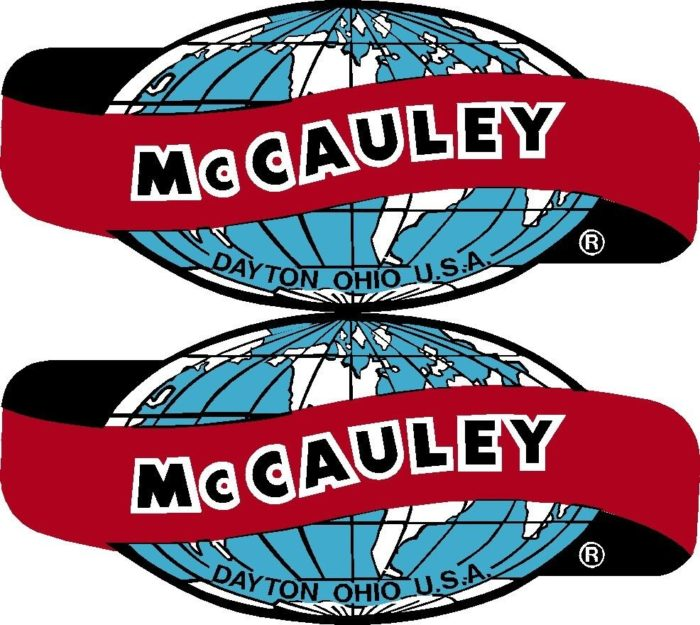 McCauley World Prop Propeller Decal (PAIR)