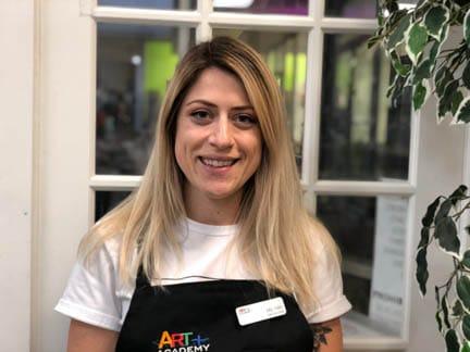 Art Teacher N. Amoros.