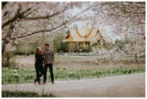 Olbrich Gardens Spring Engagement