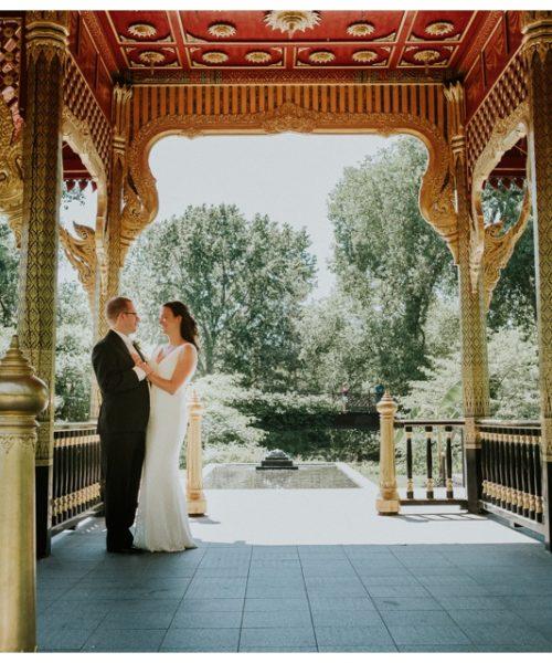 Olbrich Gardens Wedding