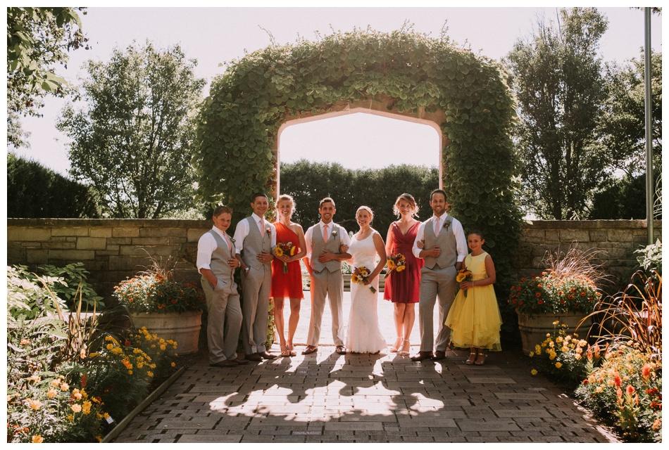 Rotary Garden Summer Wedding