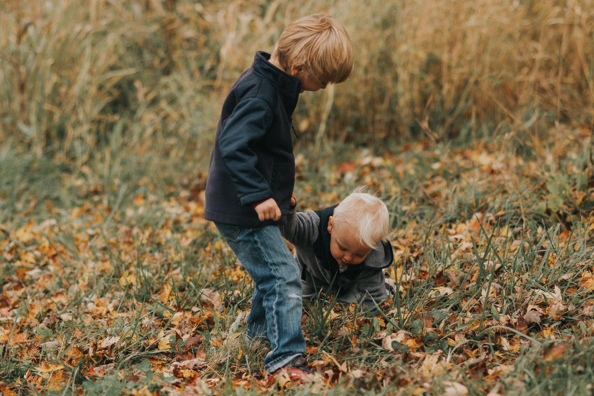 Fall Family Mini Session