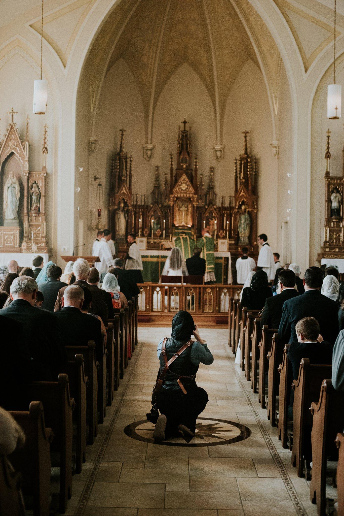 A Catholic Wedding Photographer