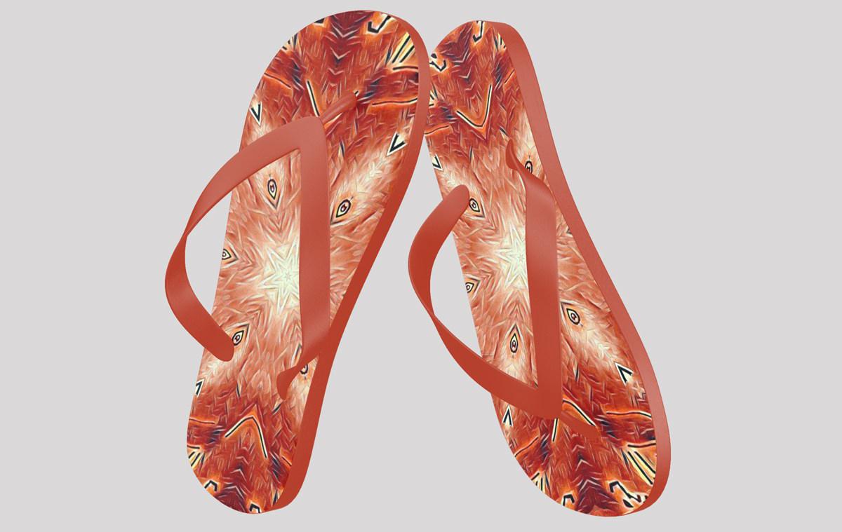 ILLUSTRATION Shoe Design Pattern