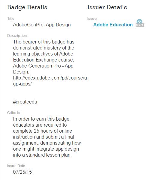 Adobe Award for App Design