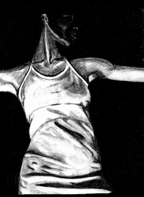 PAINTING: Female Figure