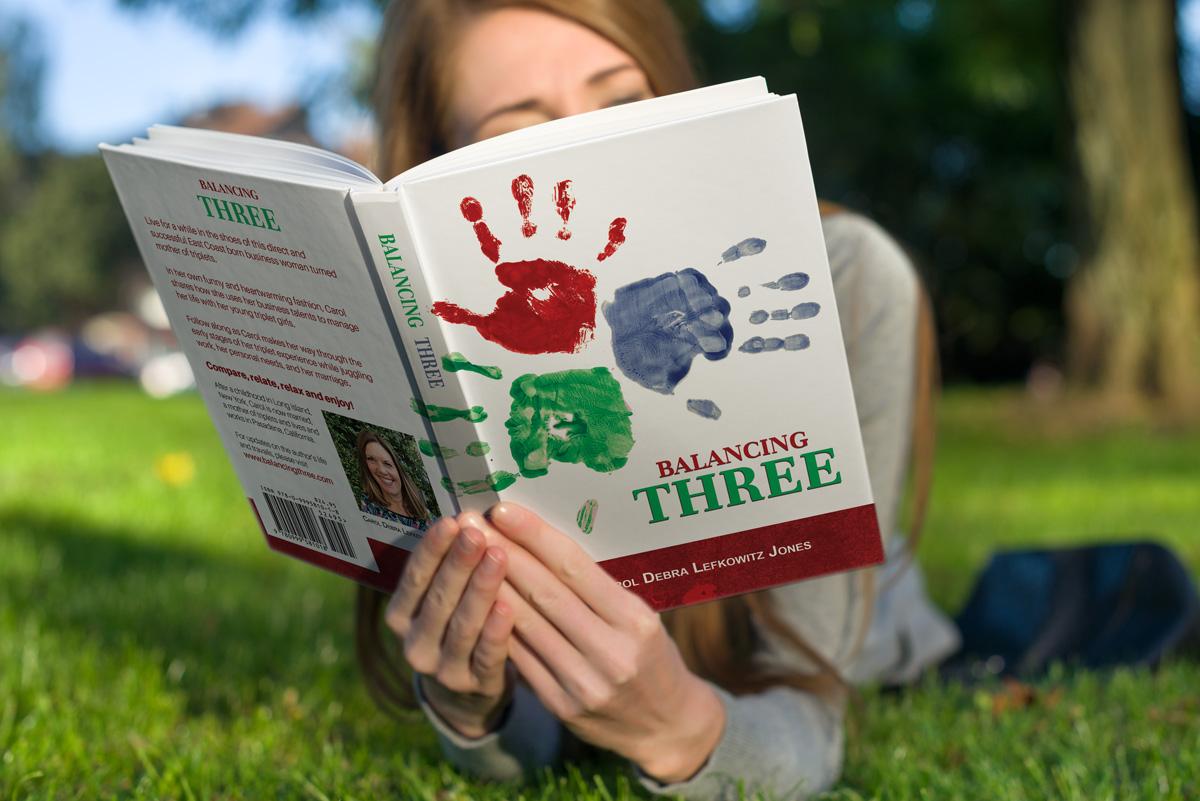 BOOK COVER DESIGN Balancing Three