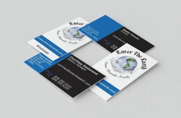 Business Card Design Asheville Retail