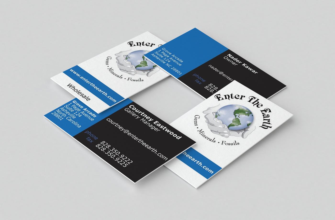 BUSINESS CARD DESIGN Asheville Retail & Wholesale
