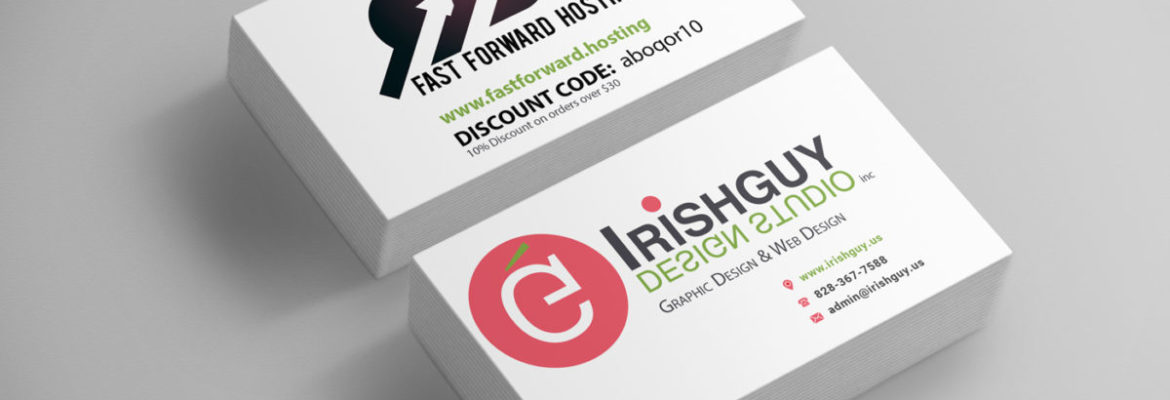 Business Card Design with Coupon