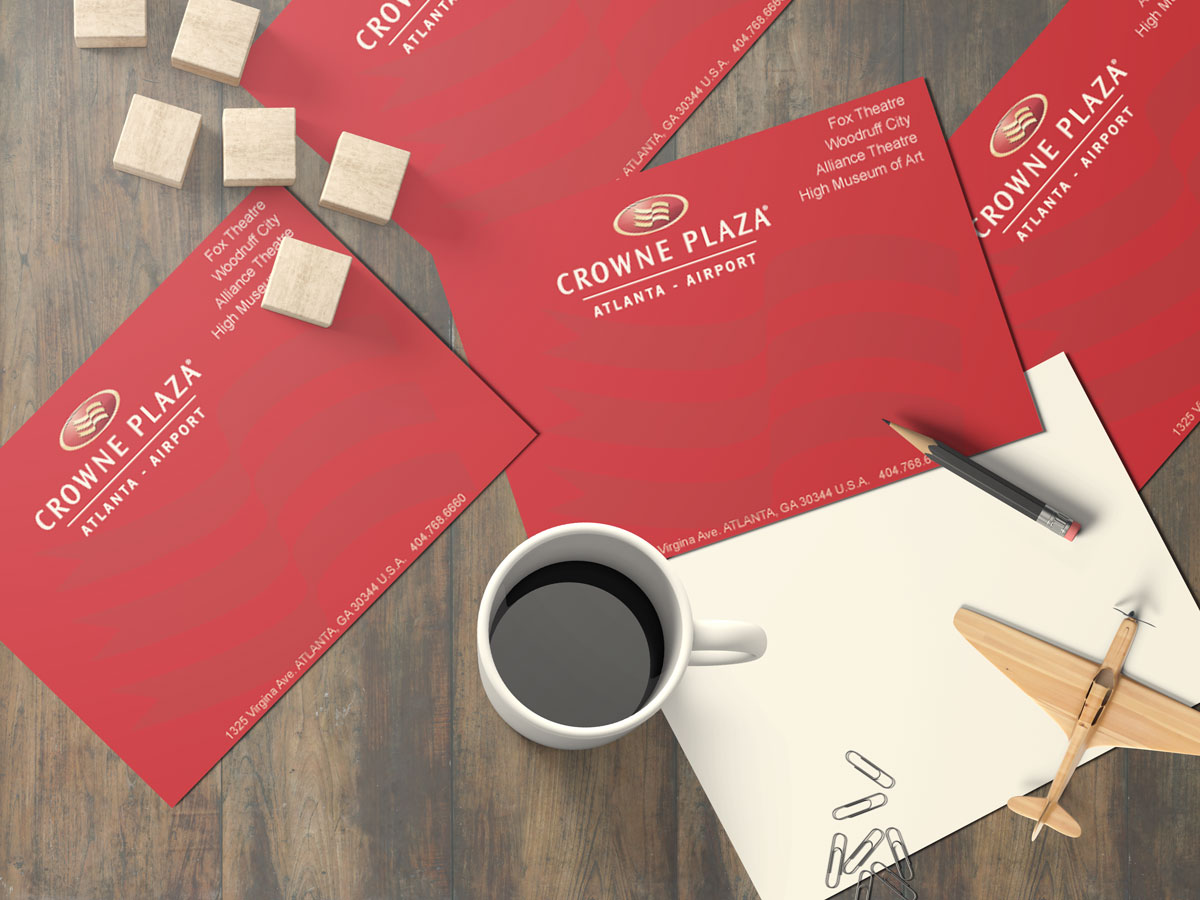 DIRECT MAIL POSTCARDS Crowne Plaza
