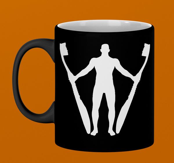Graphic Design Sample Mug Mockup