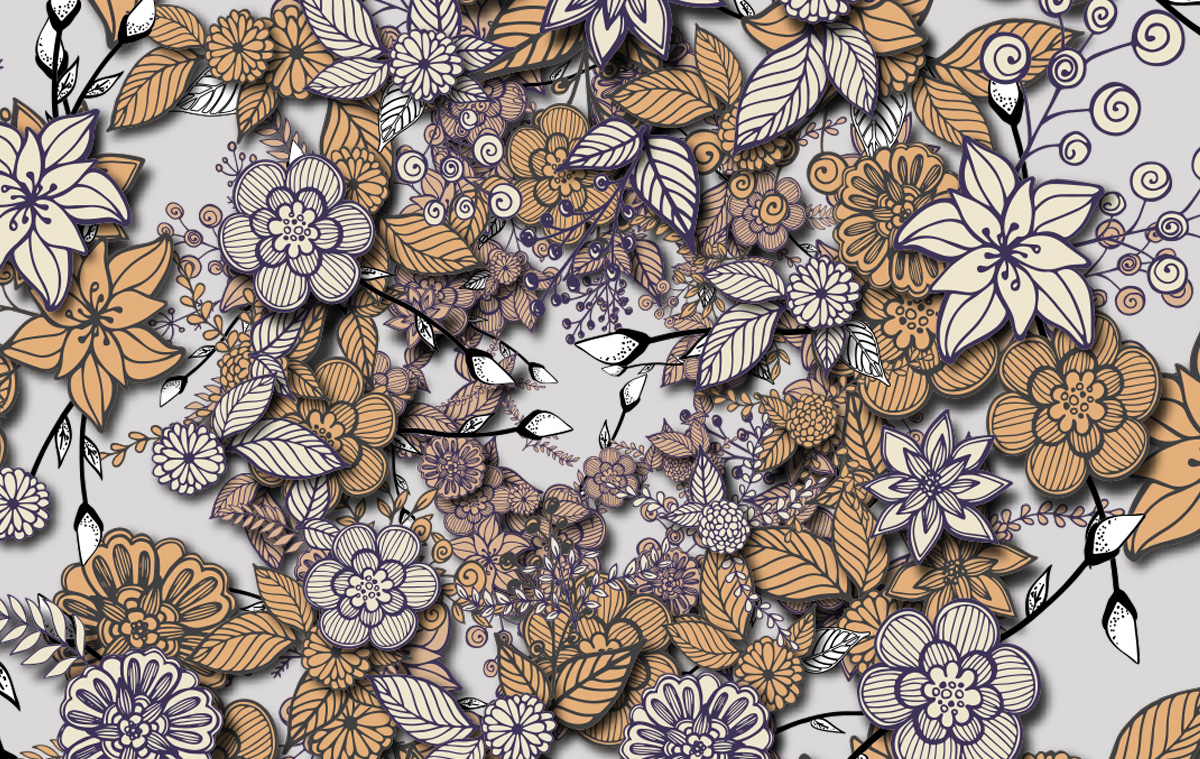 ILLUSTRATION Flower Wreath