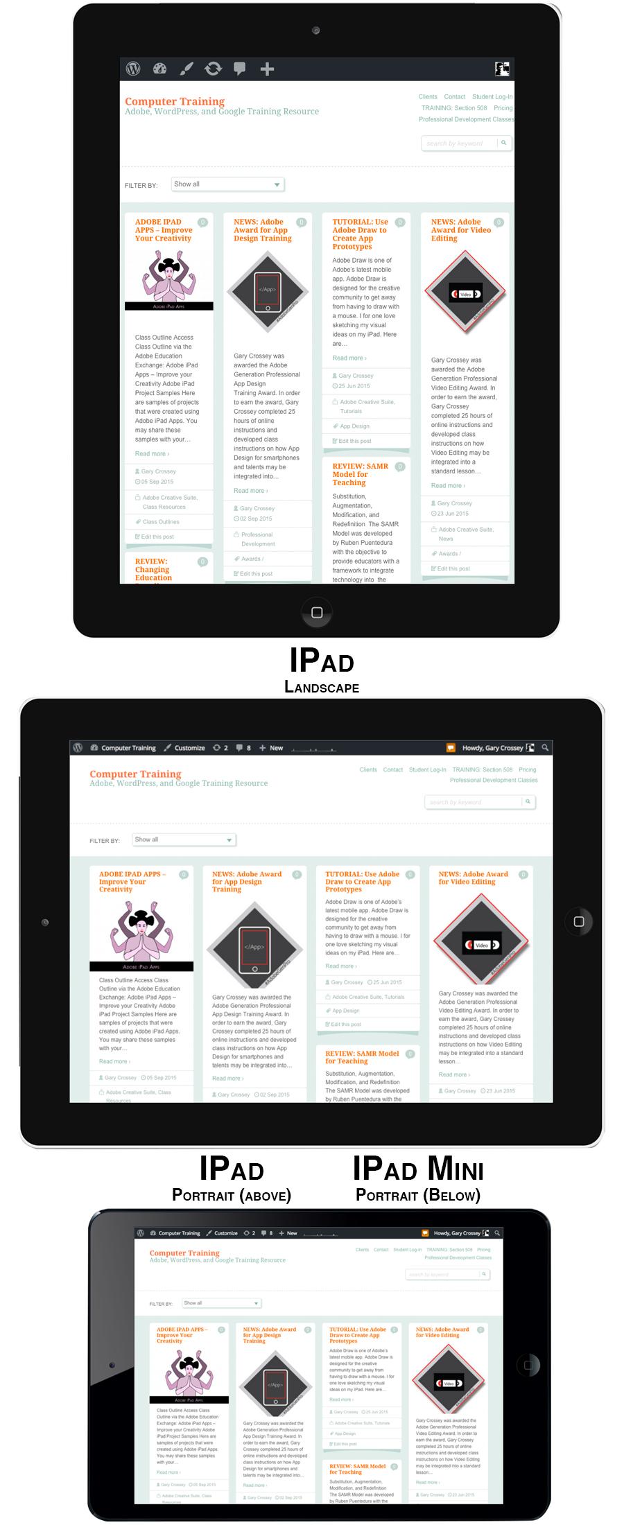 Website Design for Smartphone Users