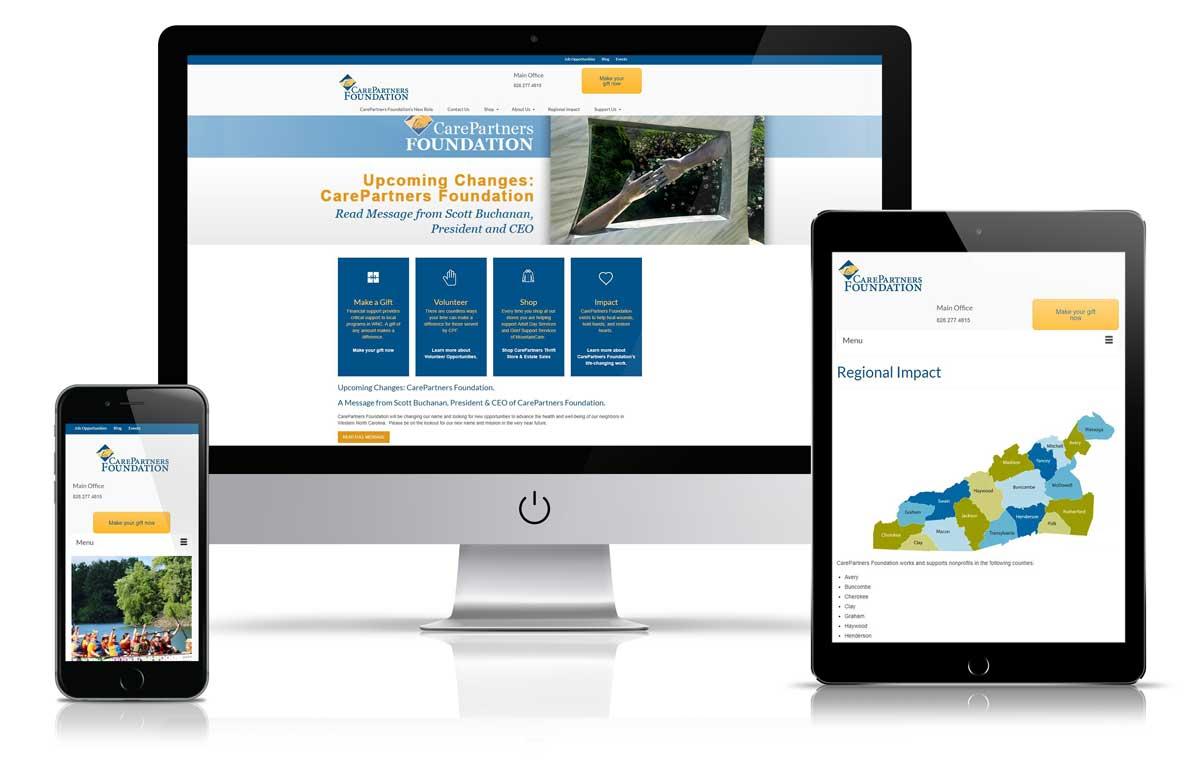 Asheville Non-Profit Website Design