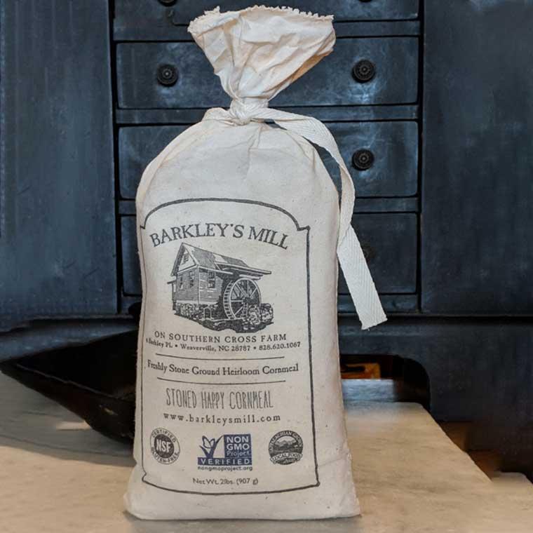 Product Photography – Barkley's Mill Cornmeal