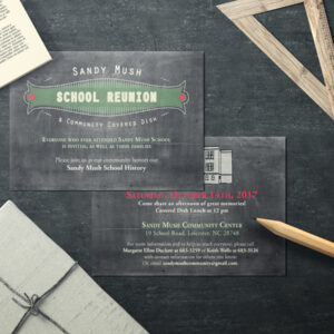 Postcards Invite Design