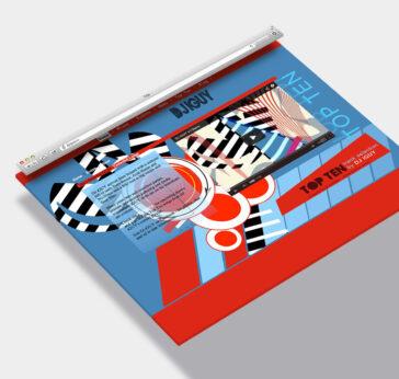 Web Design Sample Asheville DJ
