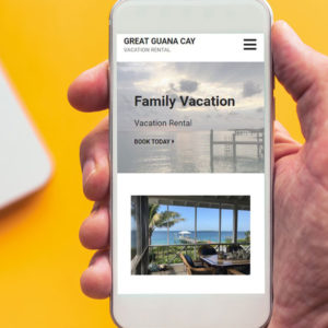 Website Design Vacation Rental