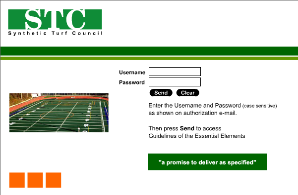 Custom website login page