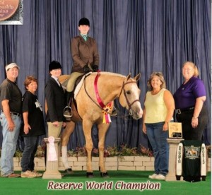 Reserve World Champion Pic