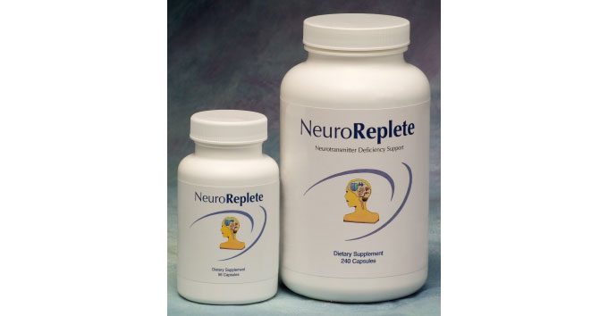 Nutritional support for imbalances associated with neurotransmitter imbalances, such as depression, anxiety, migraine headaches, insomnia, Parkinson's disease and obesity