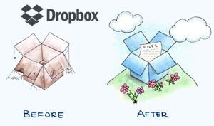 Dropbox before-after
