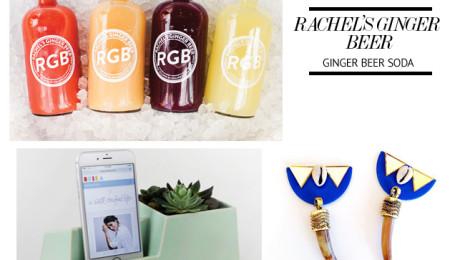 Image Source: Rachel's Ginger Beer, Stak Ceramics & Rachel Stewart Jewelry