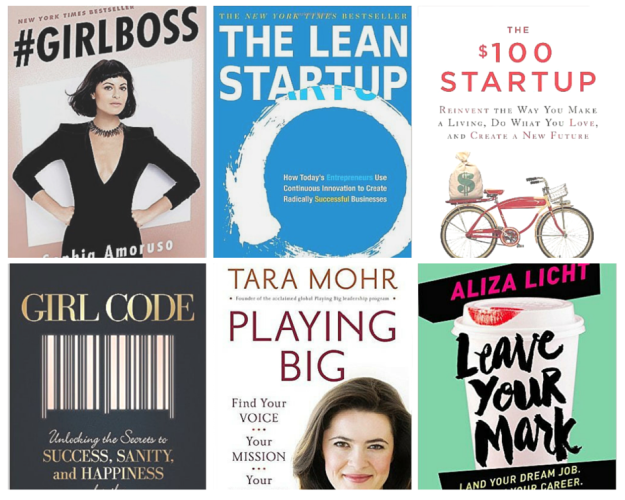 Girlboss, The Lean Startup, $100 Startup, Girl Code, playing Big & Leave your Mark