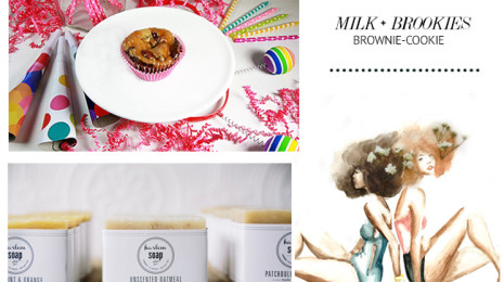 Milk + Brookies, Harlem Soap and Debra Cartwright