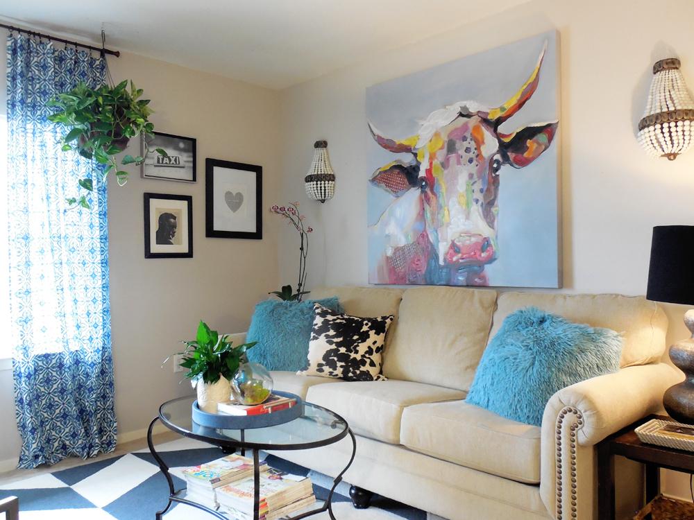 Whitney Jones living room