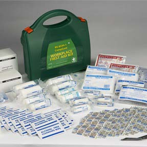 Steroplast Premier BS8599 Compliant Workplace First Aid Kit Small